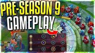 NEW PRE-SEASON 9 GAMEPLAY!! New META Is HERE - League of Legends