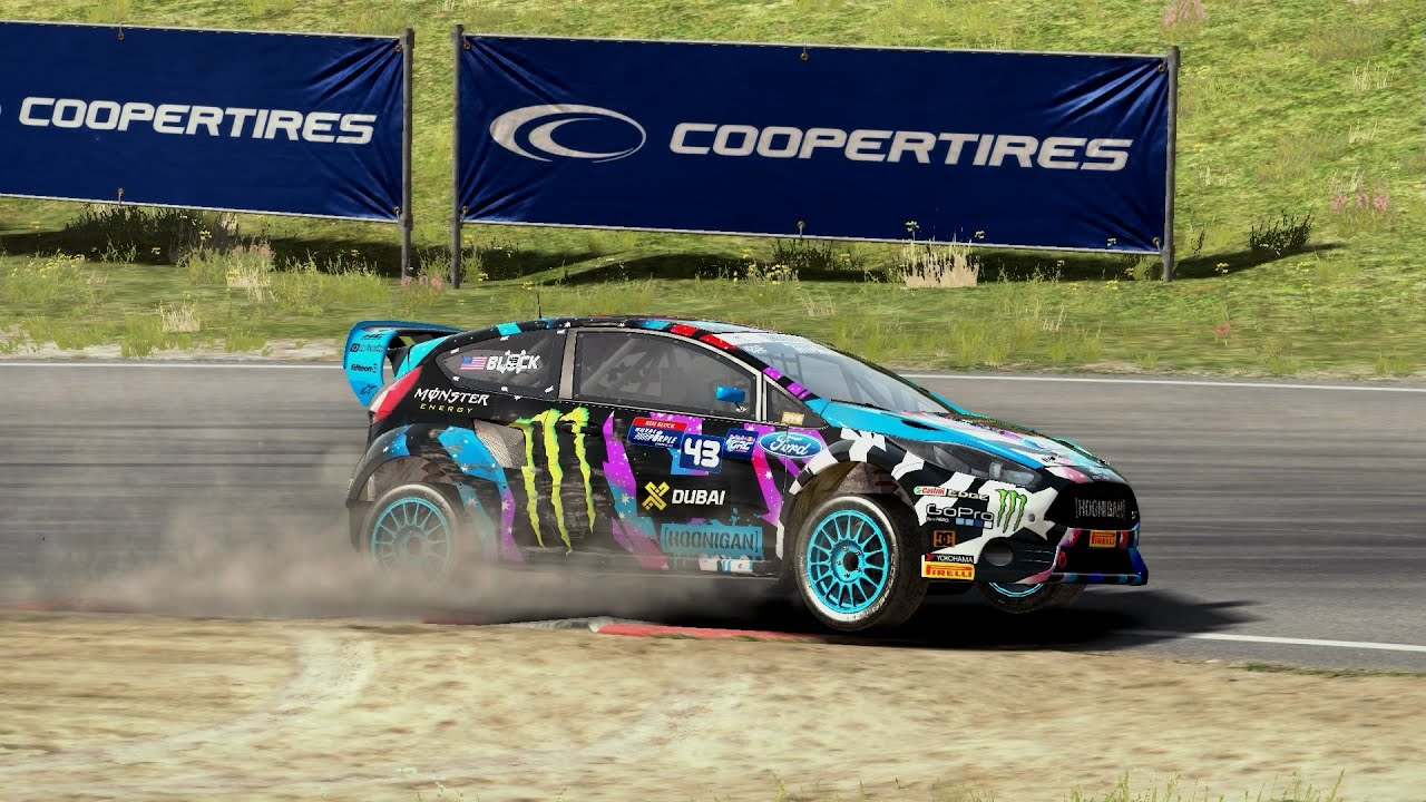 Rally Car Racing Ken Block