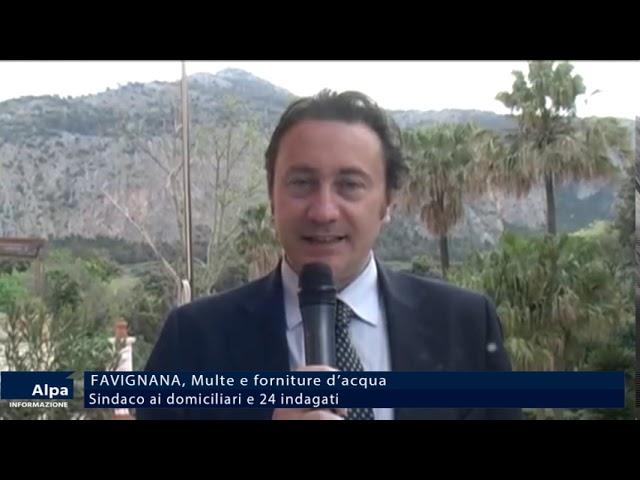 Favignana, sindaco in manette.  24 indagati
