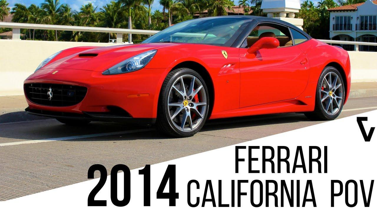 Exotic Car Rental Nyc >> 2014 Ferrari California POV Test Drive | Exotic Car Rental Miami, NYC - YouTube
