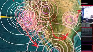 9/22/2017 -- Noteworthy Earthquakes strike Northern California as expected -- M5.8 + M5.6 forecast