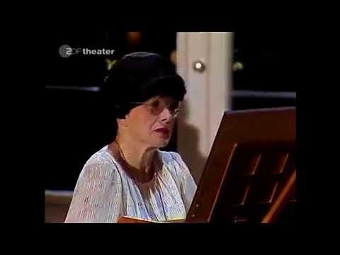 Bach Sonata BWV 1019 G Major Zuzana Růžičková harpsicord Josef Suk violin