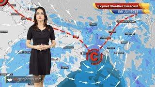 5 जुलाई मौसम पूर्वानुमान: मुंबई,गुजरात, पंजाब,यूपी,बिहार में बारिश