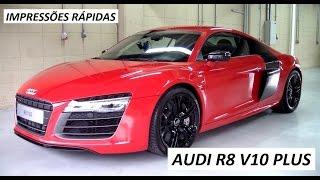 Lançamento: Audi R8 V10 Plus