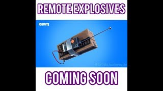 500 SUB HYPE! | *NEW* Remote Explosives Coming! | Grinding Solos | Fortnite PS4