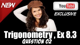 ncert solution for class 10 maths introduction to trigonometry 8 3 q2