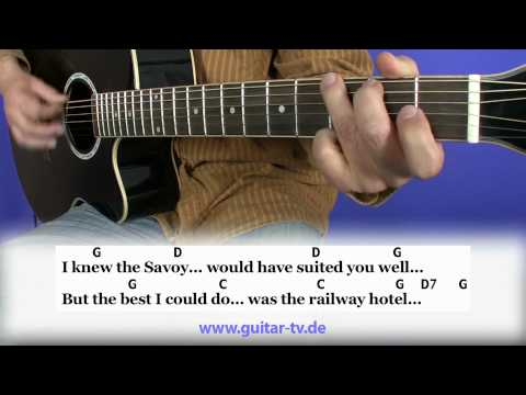 Railway Hotel - Mike Batt - Cover - Lyrics - Akkorde - Chords