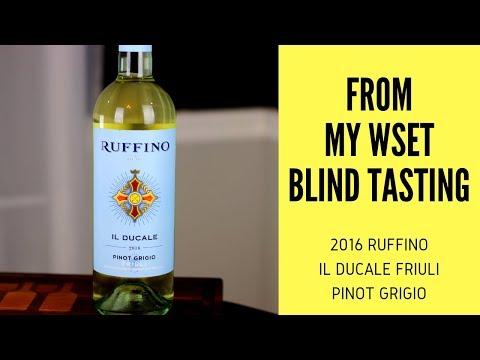 2016 Ruffino Il Ducale Friuli Pinot Grigio White Wine Review