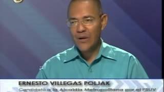 COMPLETA: Entrevista de Vladimir Villegas a Ernesto Villegas  en Globovisión