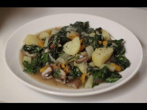 basisch kochen 2 mangold heslach vegetarisch vegan youtube. Black Bedroom Furniture Sets. Home Design Ideas