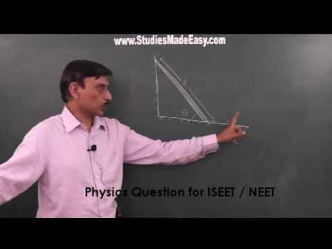 Physics- Q1/ISEET/NEET