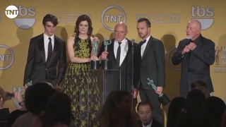Breaking Bad Cast   Press Room   SAG Awards