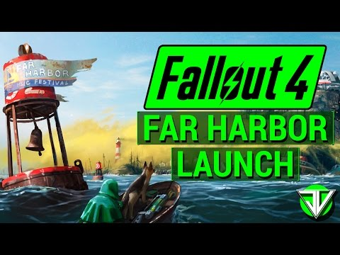 FALLOUT 4: NEW Far Harbor DLC Launch Info! (Release Times, Weapons, Factions, and More!)