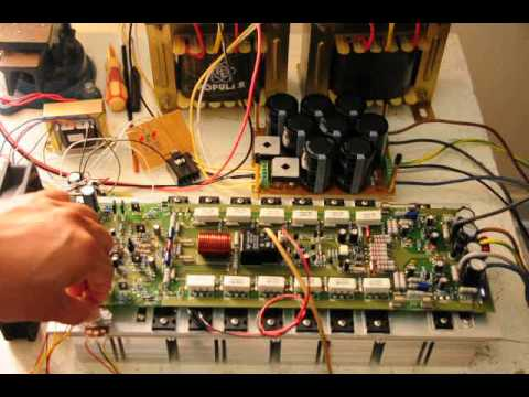 Profesional 2kw class h amp  YouTube