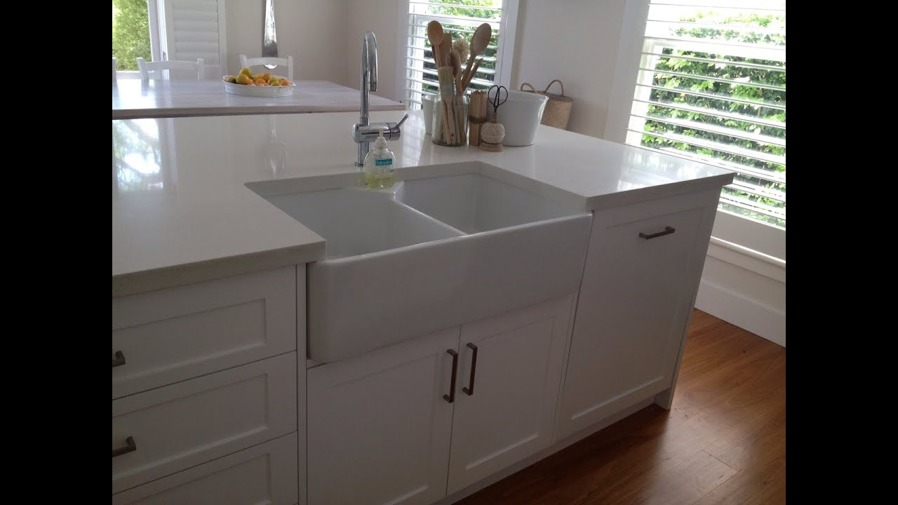 butler sinks with drainers small online uk youtube - Kitchen Sinks Sydney