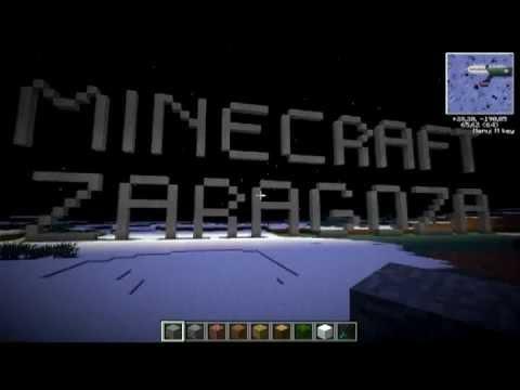 Intro del Canal Minecraft Zaragoza
