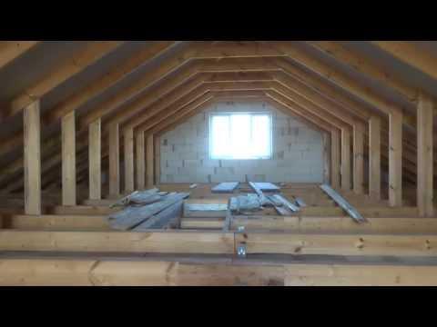 крыши четырехскатной фото мансарда