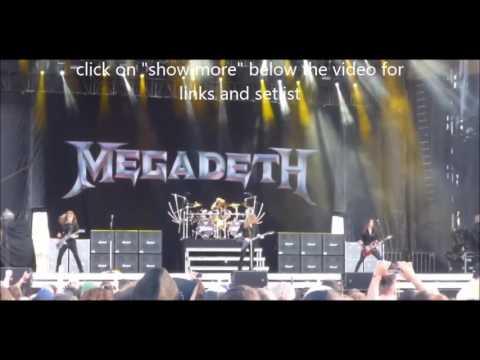 MEGADETH Montebello Rockfest in Quebec June 24 2017 video released