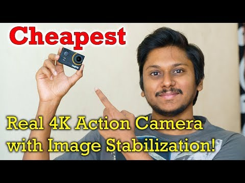 Thieye E7 Cheapest Real 4K Action Camera with Image Stabilization...