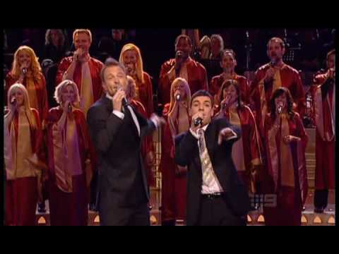 Carols By Candlelight 2008: Anthony Callea and Tim Campbell  Featuring The Melbourne Gospel Choir