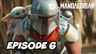 Star Wars The Mandalorian Season 2 Episode 6 Boba Fett - TOP 10 WTF and Easter Eggs