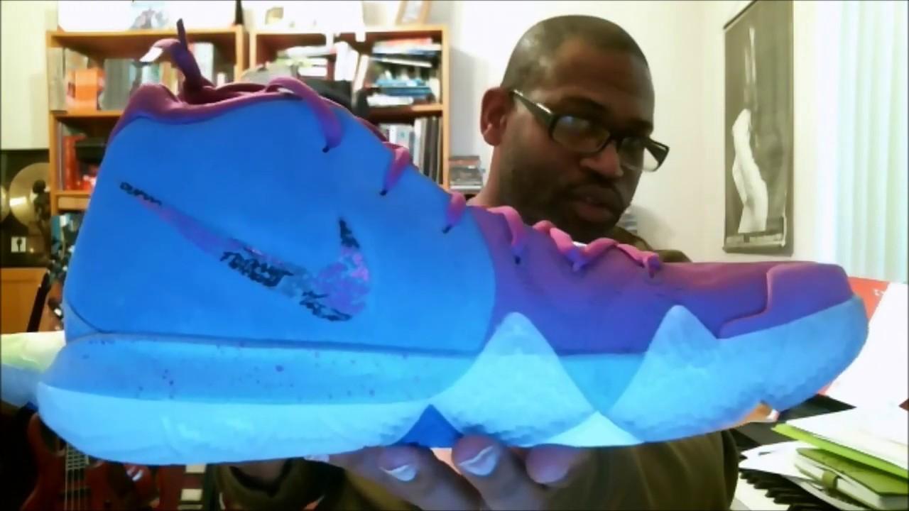official photos 954cb e7837 Nike Kyrie 4 Confetti Multi-Color Multi-Color 943806-900   Authentic  Verification