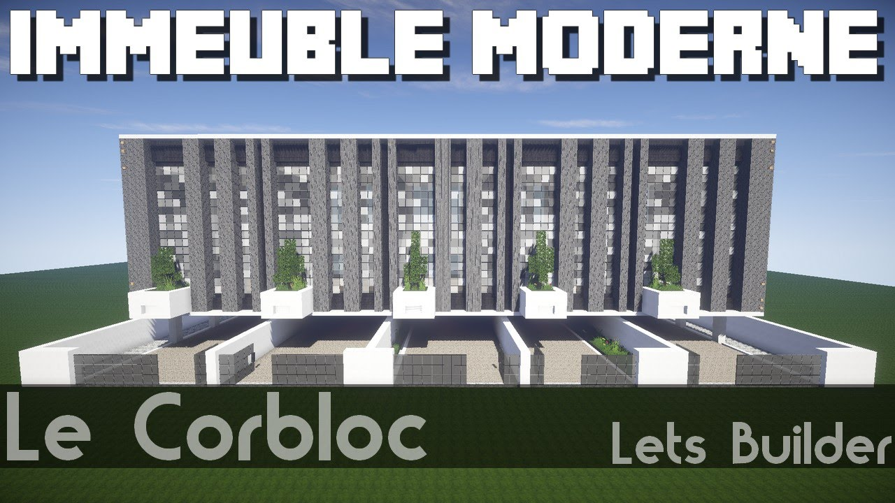 Minecraft immeuble moderne youtube - Immeuble moderne minecraft ...