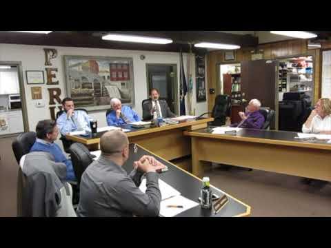 Peru Town Board Meeting of Nov  27, 2017