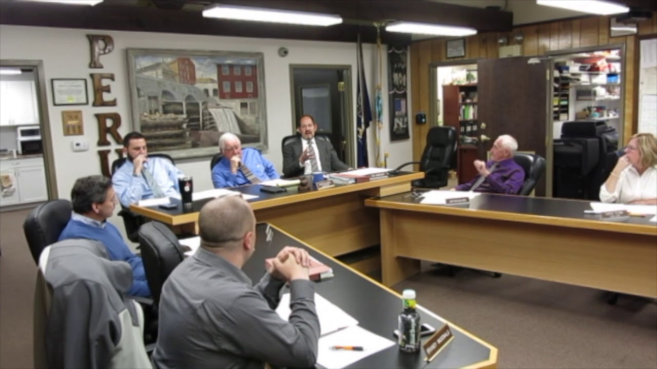 Peru Town Board Meeting  11-27-17