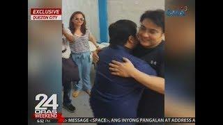 24 Oras: Estrada, niyakap si Revilla bago umalis sa PNP Custodial Center