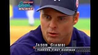 Jason Giambi interview on George Michael Sports Machine