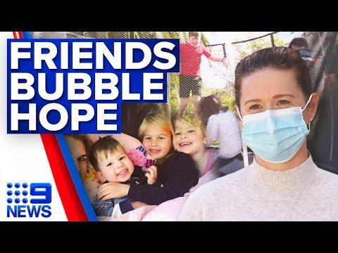 Victorian parents, psychologists hope for 'friends bubble' for kids   Coronavirus   9 News Australia