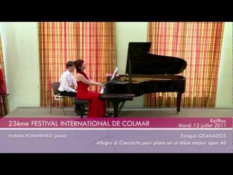Amaury Coeytaux - Natalia Romanenko - Festival International de Colmar 2011