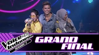 Opening Medley Coaches & 6 Finalists | Grand Final | The Voice Kids Indonesia Season 3 GTV