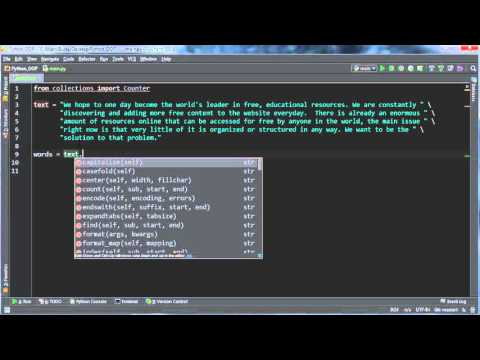 Python Programming Tutorial - 54 - Finding Most Frequent Items