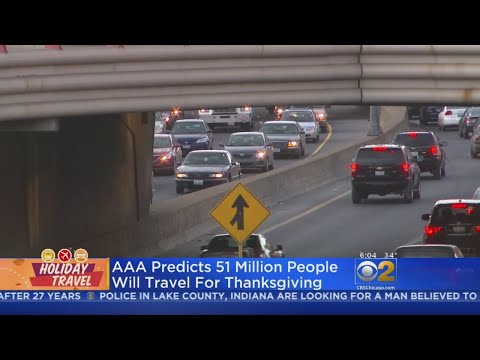Chicago Area Could See Big Spike In Road Congestion For Thanksgiving Holiday