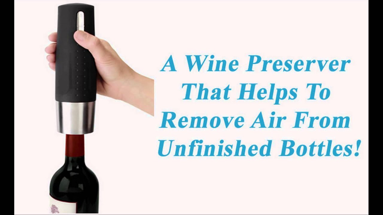 Best Electric/Automatic Wine Bottle Opener