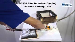 INCA DC333 Surface Burning Test
