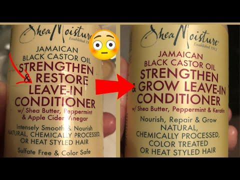SHEA MOISTURE INGREDIENTS HAVE CHANGED (What Did They Do)