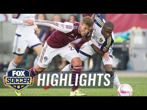 Colorado Rapids vs. Real Salt Lake - 2015 MLS Highlights
