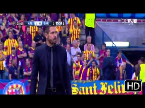Atletico de Madrid vs Barcelona (1-0) Cuarto de final champions league 2014