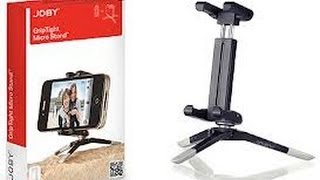 Joby GripTight Micro Stand/GripTight Mount Review For iPhone 5, Android and Windows