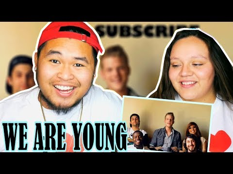 We Are Young - Pentatonix (Fun Cover) | REACTION 2018