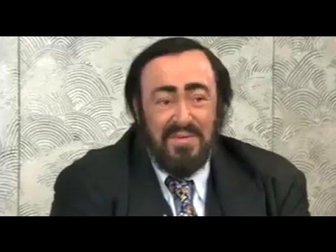 Luciano Pavarotti - 3 Tenors - Interview Yokoama 2002