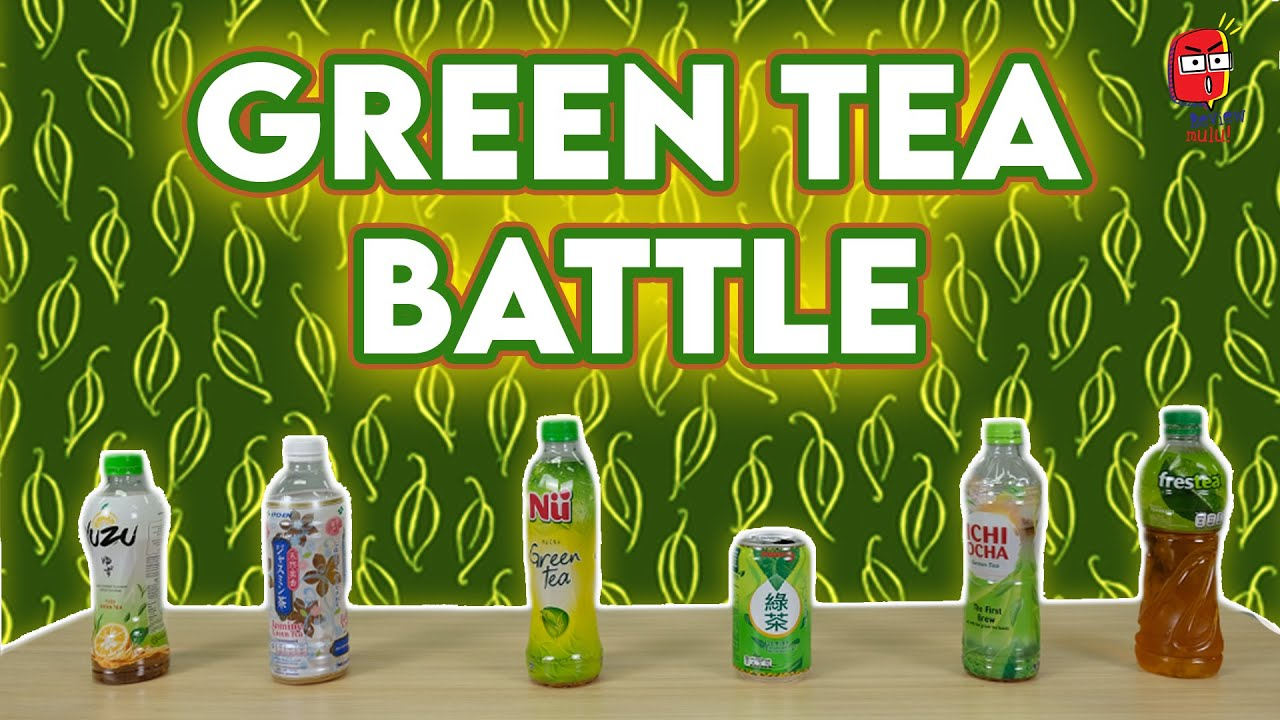 GREEN TEA BATTLE! Review & Rating 6 Merk Green Tea Kemasan!