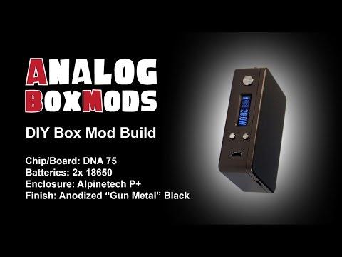DNA 75 2x18650 DIY Box Mod Build