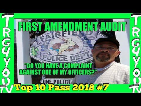 1st Amendment Audit Fairfield Police Department