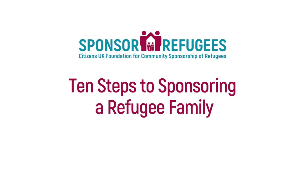 Ten Steps to Sponsoring a Refugee Family