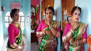 Best HD modern reception makeup Look || Bengali bridal makeup for reception