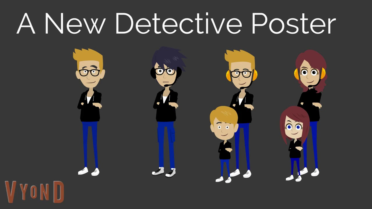 i made detective characters youtube